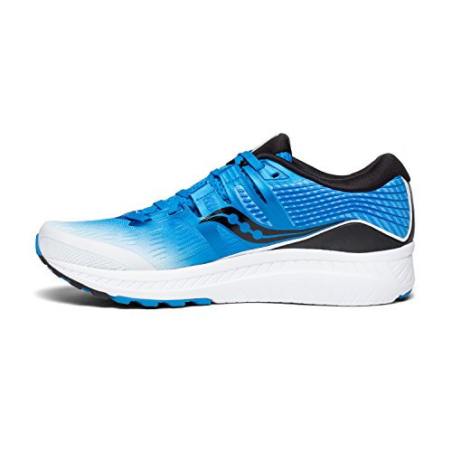 Saucony Men's Ride ISO, Blue/White, 11.5 D US