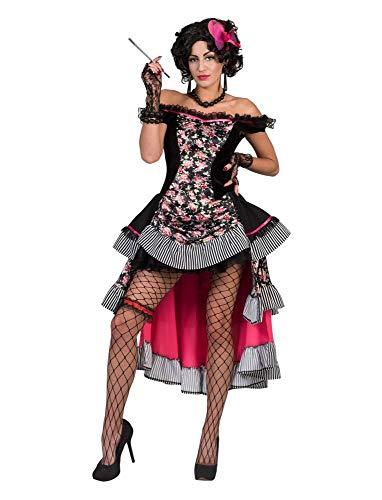 Funny Fashion Saloon Girl Sierra Kostüm für Damen - Gr. 40 42