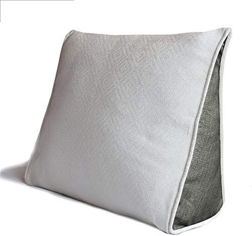 DHFDHD Reading Pillow Wedge Pillow Support Pillow Throw Back Support Triangle Pillow Angle Pillows Flex Cushion Cushion Pillow (Color : #3, Size : 45 * 40 * 15cm)