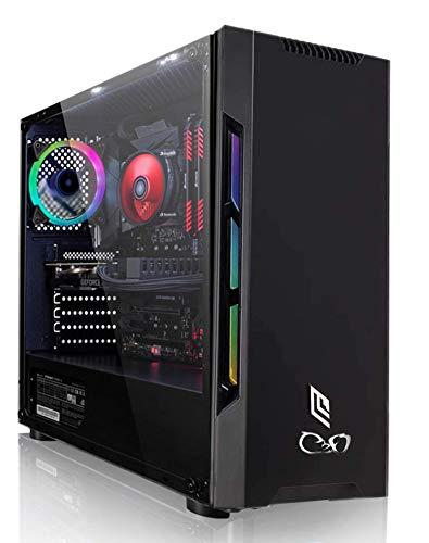 CeO-Tech Zeta V2 PC Gaming - CPU AMD 3000G 3.50GHz 4MB Cache | RAM 16GB DDR4 | SSD 240GB | GTX 1050TI 4GB | Ultra HD 4K | 500W | Wi-Fi | Windows 10 PRO