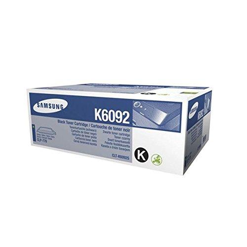 Samsung CLT-K6092S/ELS Original Toner (Hohe Reichweite, Kompatibel mit: CLP-770ND, CLP-775ND) schwarz