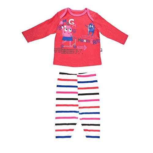 Petit Béguin - Pyjama bébé fille Cute Monster - Taille - 24 mois (92 cm)