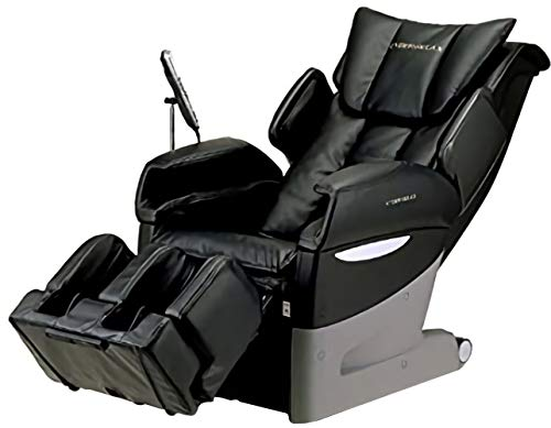 Fujiiryoki EC-3700BLACK Model EC-3700 Dr. Fuji Cyber-Relax Massage Chair, Black, Reclining Angle Approx 120~170 Degrees, Rated time 30 Minutes, Neck Massage, Super Knead/Super Tapping, Remote Control