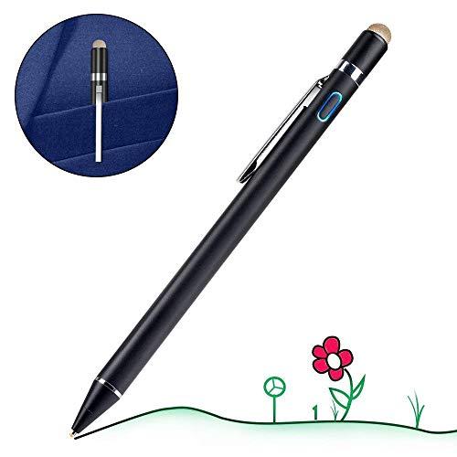 【改良版】 タッチペン 極細 スマートフォン タブレット スタイラスペン iPad iPhone Android対応 高感度 ...