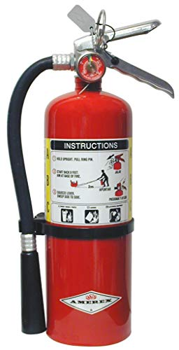 5lb ABC Dry Chemical Fire Extingusher W/Heavy Duty Vehicle Bracket (1) each