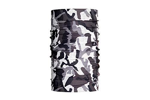HeadLOOP Multifunktionstuch Camouflage Schnee Loop Schlauchtuch Schal Halstuch Kopftuch Microfaser