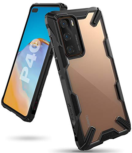 Ringke Fusion X Case Designed for Huawei P40 - Black