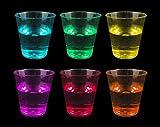 Mv Tech MVT565 Bicchieri, Multicolore, 30 Pezzi, Bianco