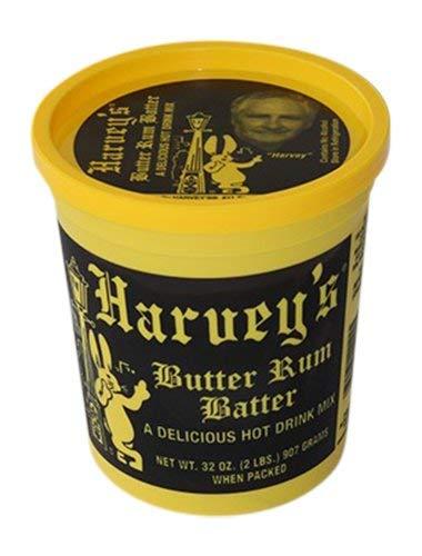 Harvey's Hot Butter Rum Batter 32 Oz Tub