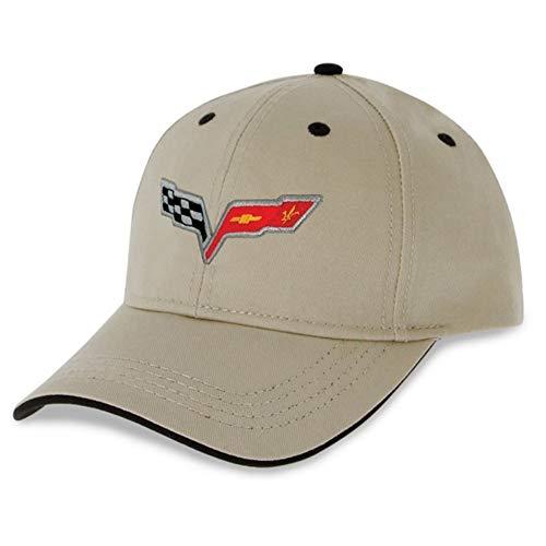 C6 Corvette Heritage Hat - Stone - Embroidered