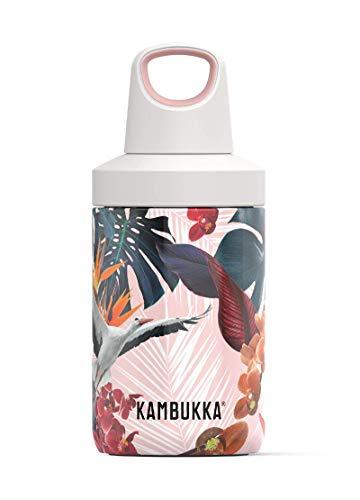Kambukka botella agua térmica RENO INSULATED Orchids, acero inoxidable 300 ml