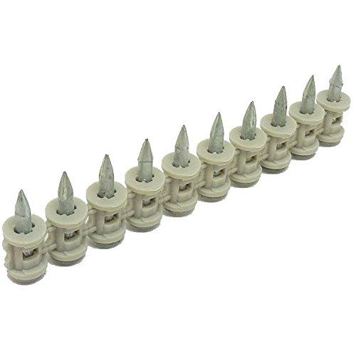 100x HILTI DX Beton Nägel Magaziniert 20mm + Kartuschen f. DX 460 40 41 36 351