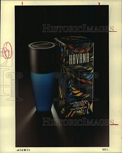 1995 Press Photo Havana – Fragancia para hombre por Aramis; Saks, Neiman Marcus Store