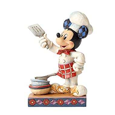 Jim Shore Disney Traditions by Enesco Chef Mickey Figurine