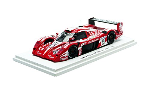 Spark – S2387 – Toyota gt-one TS020 – Le Mans 1998 – Maßstab 1/43 – Rot/Weiß