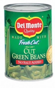 Del Monte Cut Green Beans Discount mail order No 14.5oz Salt Pack trust Added 12 -