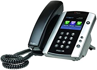 Polycom VVX 501 Corded Business Media Phone System - 12 Line PoE - 2200-48500-025 - AC Adapter (Not Included) - Replaces VVX 500 (Renewed)