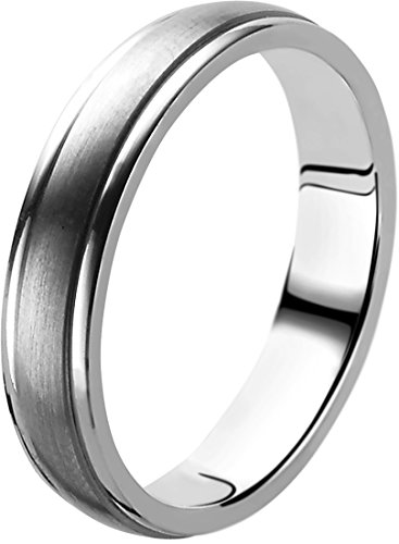 Orphelia Unisex -Trauringe 925_Sterling_Silber '- Ringgröße 52 (16.6) OR9730/5/A1/52