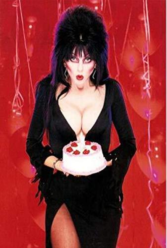 SIGNLEADER Canvas väggkonst Elvira mörkrädare filmkonst filmtryck affisch hem väggdekor canvasmålning 60 x 90 cm