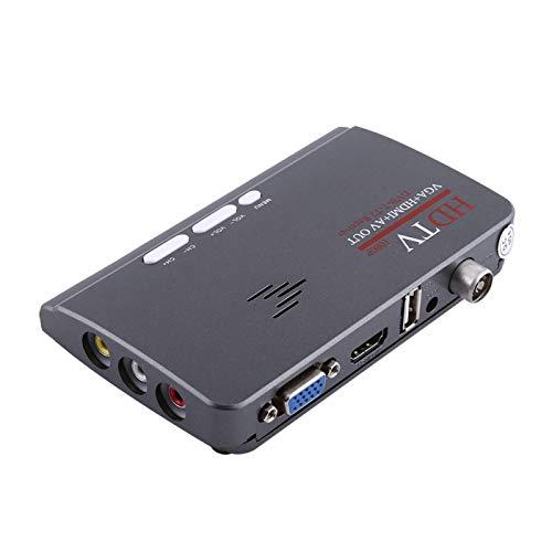 Socobeta Ricevitore TV TV Box Sintonizzatore TV DVB-T2 HDMI 1080P Digital Smart con Porta VGA