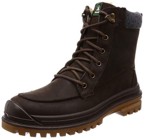 Kamik Men's Griffon2 Winter Boots Dark Brown 11