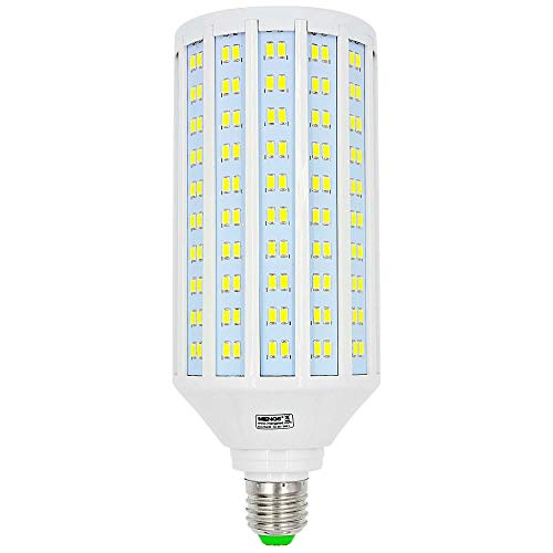 MENGS E27 Bombillas LED 50W Lámpara LED AC 85-265V, Blanco Frío 6500K, 4400lm Luz LED