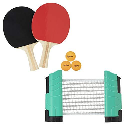 カイザー(Kaiser) ラケット ボール ネット セット どこでも 卓球 セット KW-020