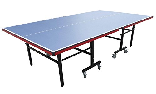 Buy Bargain 9' Recreational Blue Table Tennis or Ping Pong Game Table