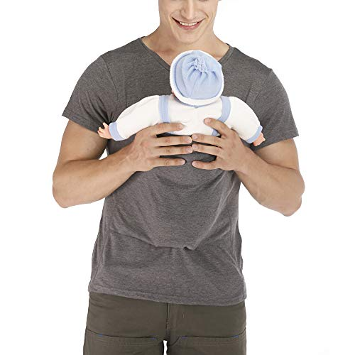 ViKimLand Kangaroo Care Dad Shirt Baby Wrap T-Shirt Baby Carrier Wrap Tank Shirt Grey
