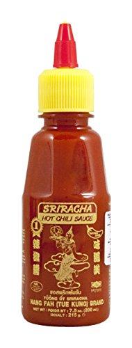 Nang-Fah Salsa Sriracha Al Peperoncino Rosso Piccante - 3 pezzi da 200 ml [600 ml]
