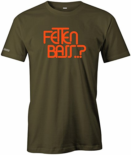 Jayess Fetten Bass - Herren T-Shirt in Army by Gr. L