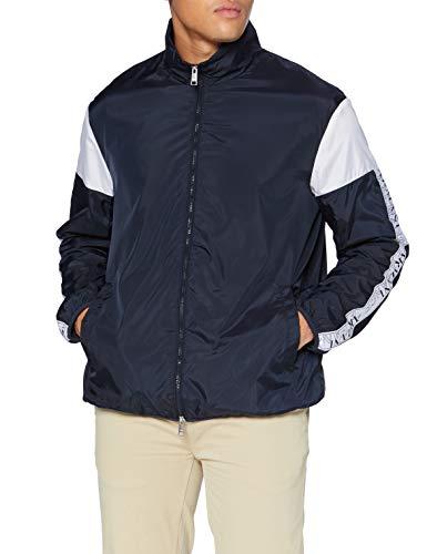 ARMANI EXCHANGE Blouson Jacket 08 Giacca a Vento, Navy White, S Uomo