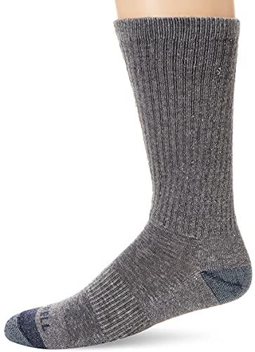 Merrell Men's 3 Pack Cushioned Performance Hiker Socks (Low/Quarter/Crew Socks)