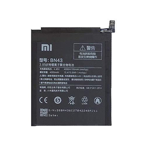 Batería de repuesto para Xiaomi Redmi Note 4X BN43 4100 mAh Ión de litio