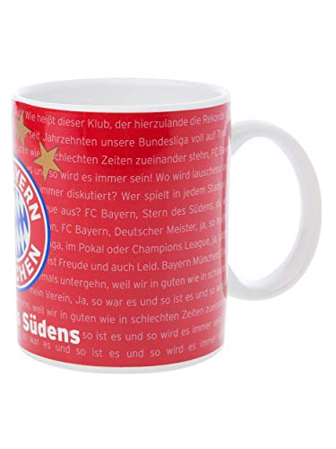 FC Bayern München Sound Tasse, musikalischer Kaffeebecher