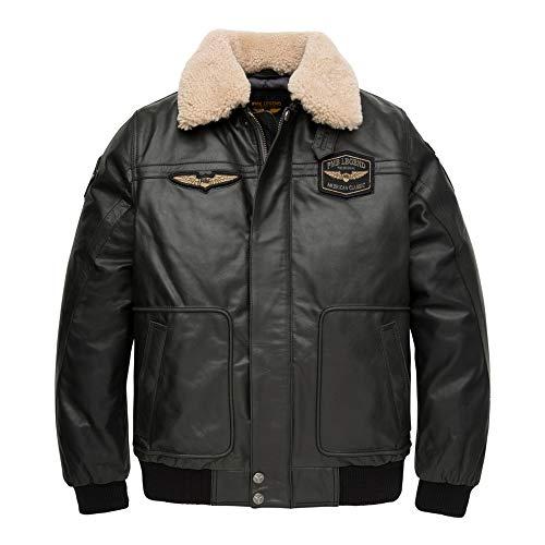 PME Legend Bomber Jacket Buff Hudson - Fliegerjacke, Größe_Bekleidung:XXL, Farbe:Pirate Black