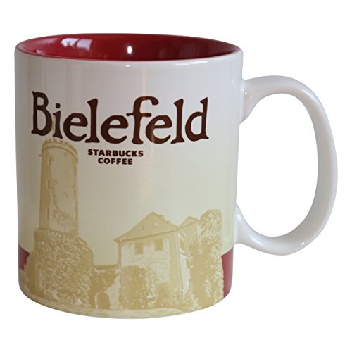 Starbucks City Mug Bielefeld Germany Icon Serie Coffee Cup Tasse