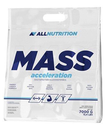 All Nutrition Polvo Complejo de Carbohidratos de Proteína de Aceleración de Masa, Arándano 7000 g