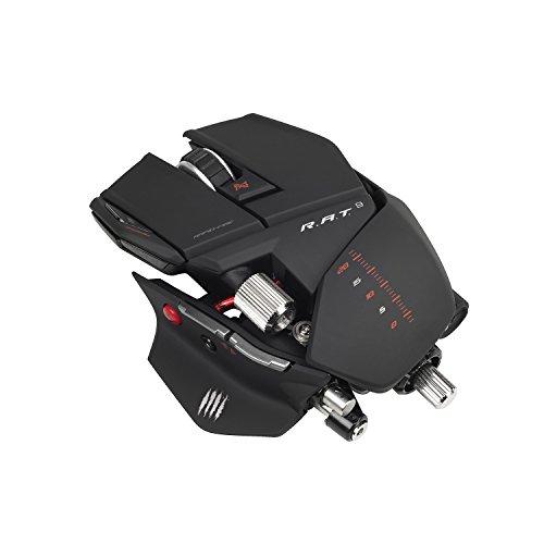 Mad Catz R.A.T. 9 Wireless Gaming Maus, 6400 dpi, PC und MAC