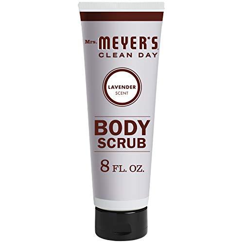 Mrs. Meyer's Clean Day Exfoliating Body Scrub, Sugar Scrub that Leaves Skin Feeling Hydrated & Fresh, Cruelty Free Formula Made with Essential Oils, Lavender Scent, 8 oz
