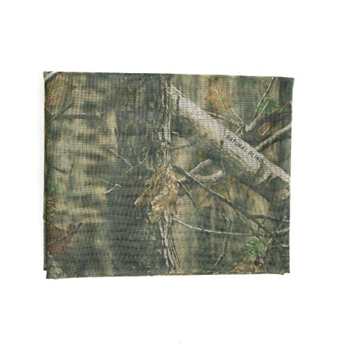 Auscamotek Mesh Camo Netting Camouflage Nets for Turkey Hunting Blinds Window Screen Camping Brown 5 ft x 12 ft (appro)