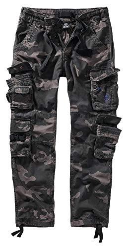 Brandit Pure Slim Fit Trouser - Darkcamo - XL