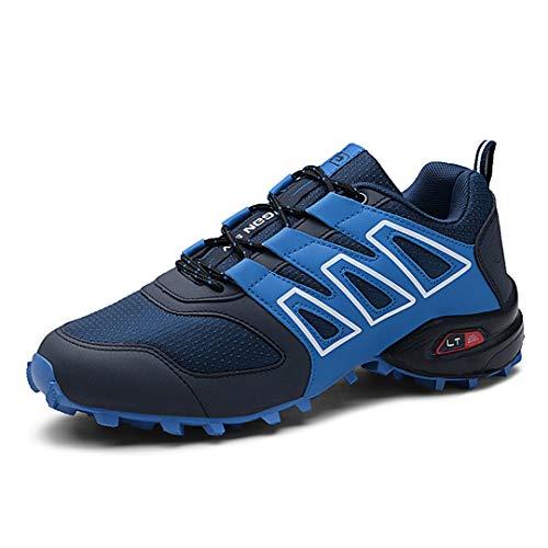 Hommes Chaussures de Sport Running Compétition Training Fitness Tennis Athlétique Sneakers,Marche, Respirantes, Antidérapantes pour Hommes Course Baskets Randonnée Sport en Plein Air Athlétiques