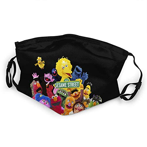 Sesame Street Rens Cagoule lavable réutilisable doux en tissu de protection réglable pour et