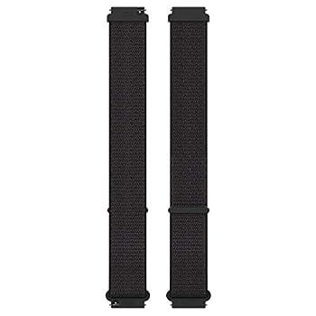 Polar Unisex s Wristband Hook&Loop 20mm Black M-L