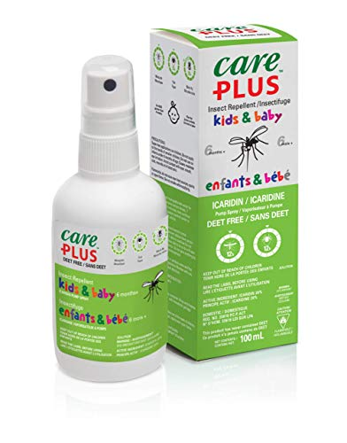 Care Plus Kids & Baby Spray anti-insectes sans DEET 20 % icaridine 100 ml