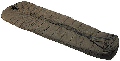 Carinthia Warmer Schlafsack Mumien-Schlafsack -Original Bundeswehr- für Extreme Bedingungen Allgemein II Winterschlafsack Oliv gebraucht mit Packsack Armee-Schlafsack Militär