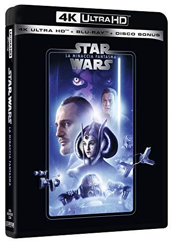 Star Wars - Episodio I - La Minaccia Fantasma (Blu-Ray 4K Ultra HD+2 Blu-Ray) [Italia] [Blu-ray]