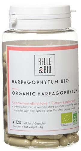 Belle&Bio Harpagophytum Bio - 285 mg/gélule - Articulation - Certifié Bio par Ecocert - Fabriqué en France