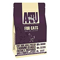 85% FREE-RUN CHICKEN- Our Chicken 85/15 cat food combines 85% fresh chicken with 15% 'super-8' fruit and veg for a delicious meal your kitty will enjoy MADE USING THE 'SUPER-8' FOR VITAL NUTRIENTS- Our AATU dry cat food includes a bespoke combination...